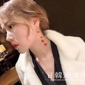 耳環  韓國氣質個性簡約s925銀耳環女2019會動的耳釘 珍珠耳墜超仙潮流
