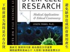 二手書博民逛書店Stem罕見Cell Research: Medical Applications and Ethical Con