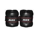 ALEX PU型多功能加重器-1KG(重量訓練 健身 有氧 免運≡排汗專家≡