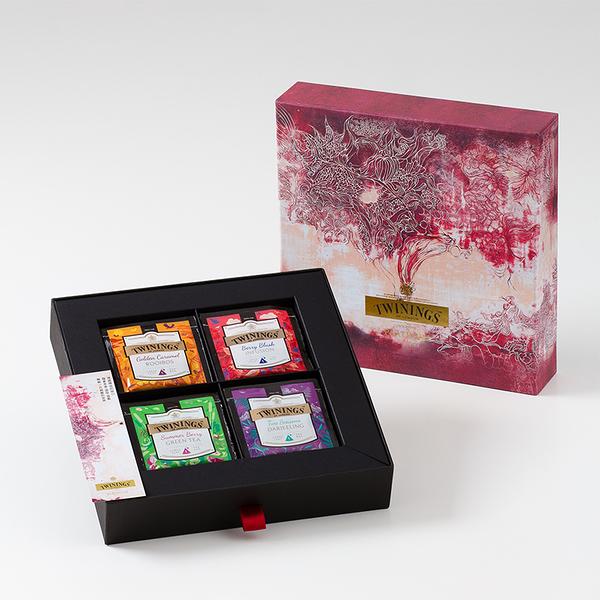 唐寧茶【Twinings】藝遊味境鉑金禮盒─崔惠宇 (4款茶包x5入)
