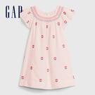 Gap女幼甜美風格刺繡花卉洋裝576365-淡粉色