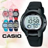CASIO手錶專賣店 卡西歐 LW-200-1B 兒童錶 10年電池 球面玻璃 塑膠按鍵 膠質錶帶 數字電子錶