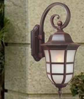 設計師美術精品館廠家熱銷戶外防水壁燈 歐式學校草坪別墅陽台牆壁燈庭院燈