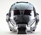 Masei公司貨美國 鋼鐵人 IRON MAN Atomic-Man鐵灰逼真 限量 多功能 全罩式 安全帽