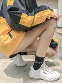 襪子女純棉中筒夏季薄款韓版學院風日系韓國黑色ulzzang潮街頭襪 秘密盒子