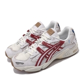 Asics 休閒鞋 Tiger Gel-Kayano 5 OG Retro Tokyo 米白 紅 男鞋 復刻東京 老爹鞋 【PUMP306】 1021A388100