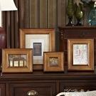 歐式美式鄉村實木新品6寸7寸10寸擺台掛牆畫框牆臥室牆貼相框 【中秋鉅惠】