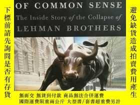 二手書博民逛書店常識的慘敗:雷曼兄弟破產A罕見Colossal Failure