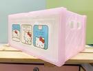 【震撼精品百貨】Hello Kitty 凱蒂貓~三麗鷗HELLO KITTY塑膠收納盒/收納提盒#59398