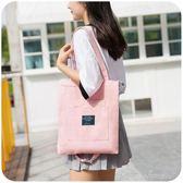 現貨出清 韓版帆布包包女大學生上課背的單肩包斜挎布袋ins原宿ulzzang中包 4-6YXS