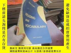 二手書博民逛書店READING罕見and VOCABULARY982541963