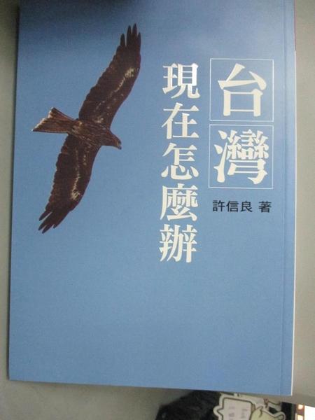 【書寶二手書T2/社會_CE2】台灣現在怎麼辦_許信良