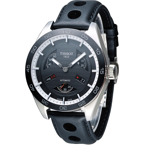 TISSOT PRS 516 Automatic Small Second  賽車元素機械腕錶 T1004281605100