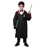 萬聖節兒童魔法師裝扮服裝男童哈利波特cos 長袍披風巫師表演服飾 檸檬衣捨