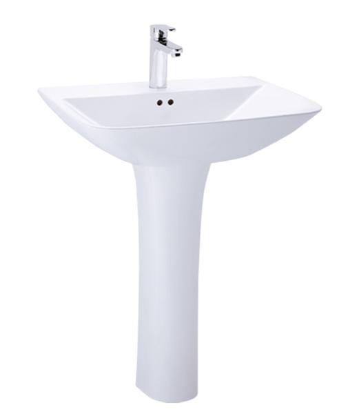 《修易生活館》凱撒衛浴 CAESAR 單孔面盆 L2365 S 長瓷腳 P2445 (不含龍頭)
