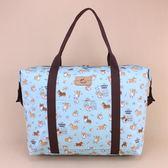 旅行袋 包包 防水包 雨朵小舖 U162-200 旅行袋-藍吐司柯基06298 uma hana