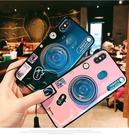 華為 Y9 2019版 手機殼 復古 藍...