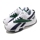 Reebok 休閒鞋 INTV 96 白 藍 綠 男鞋 女鞋 復古慢跑鞋 老爹鞋 【ACS】 FX2150