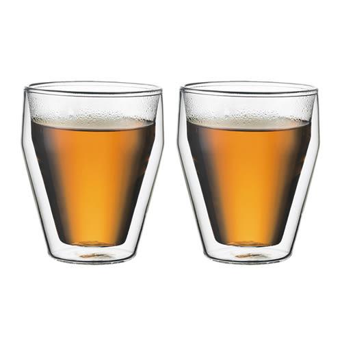 丹麥Bodum TITLIS雙層玻璃杯250CC(一盒二入)