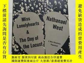 二手書博民逛書店Miss罕見Lonelyhearts & The Day of the Locust   寂寞芳心小姐   蝗蟲之