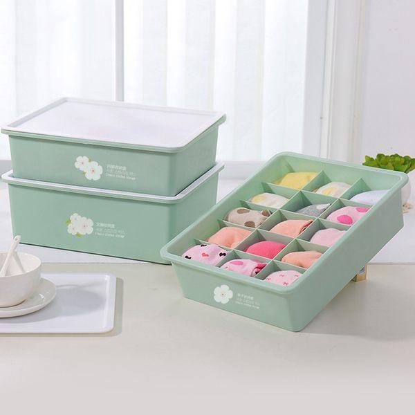 內衣盒【創意巴巴】日式內衣小物收納整理盒-3件組