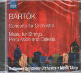 【正版全新CD清倉 4.5折】巴爾托克:管弦樂協奏曲&為弦樂、打擊樂與鋼片琴的音樂