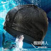 遊泳帽PU長發兒童防水韓國加大號舒適布料寬松SMY6332【極致男人】