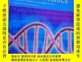 二手書博民逛書店Bioinformatics罕見VOLUME 32 NUMBER
