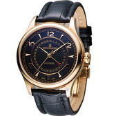 梭曼 REVUE THOMMEN 指針式日期機械腕錶 10012.2567