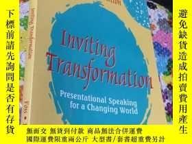 二手書博民逛書店Inviting罕見Transformation (Second