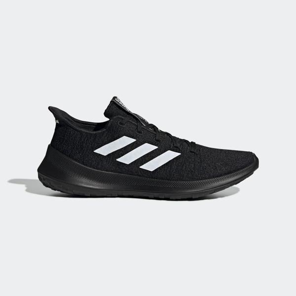 Adidas SenseBounce   M [G27367] 男鞋 慢跑 運動 避震 透氣 舒適 健身 愛迪達 黑白
