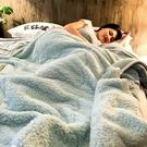 法蘭絨蓋毯 加厚三層毛毯被子珊瑚絨毯雙層...