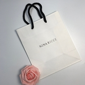 NINA RICCI 精美白色紙袋【UR8D】