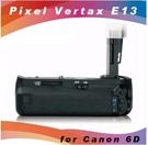 高雄 晶豪泰 品色 pixel 電池手把 E13 for Canon 6D