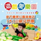 2張組↘【新竹】遊戲愛樂園糖果公園湳雅店1大1小親子門票