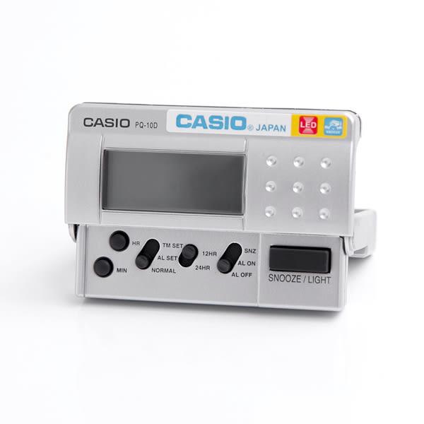 鬧鐘 CASIO輕量化設計電子鐘 柒彩年代【NVC11】原廠公司貨