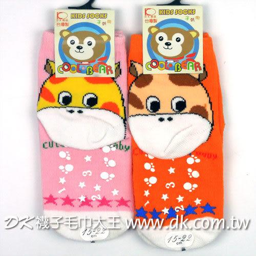 可愛動物系列 長頸鹿止滑直板襪 (6雙) ~DK襪子毛巾大王
