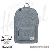 Herschel 後背包  經典後背包(小) 灰色點點 Classic Mid-1160 MyBag得意時袋