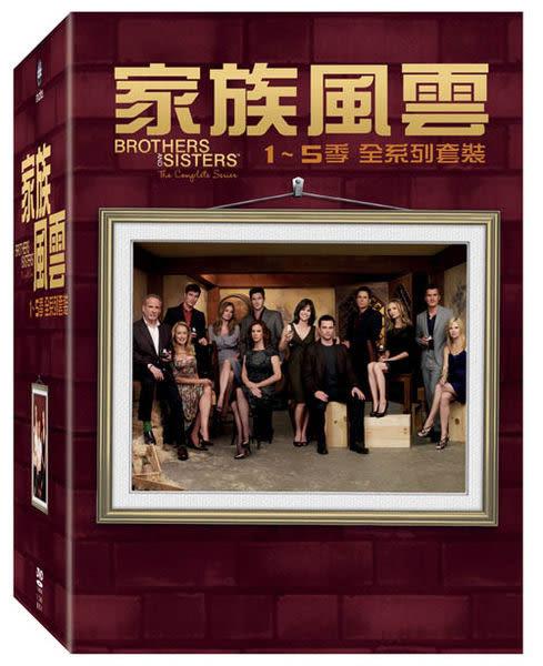 家族風雲 1到5季 DVD 全系列套裝 Brothers and Sisters Boxset 瑞秋葛瑞菲斯 (購潮8)
