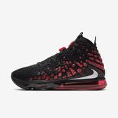 NIKE Lebron Xvii Ep [BQ3178-006] 男鞋 籃球 運動 氣墊 避震 時尚 親子 穿搭 黑紅