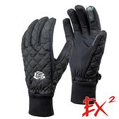 【 EX2 】保暖手套『黑』866234 休閒.戶外.保暖.保暖手套.絨毛手套.刷毛手套.觸控手套