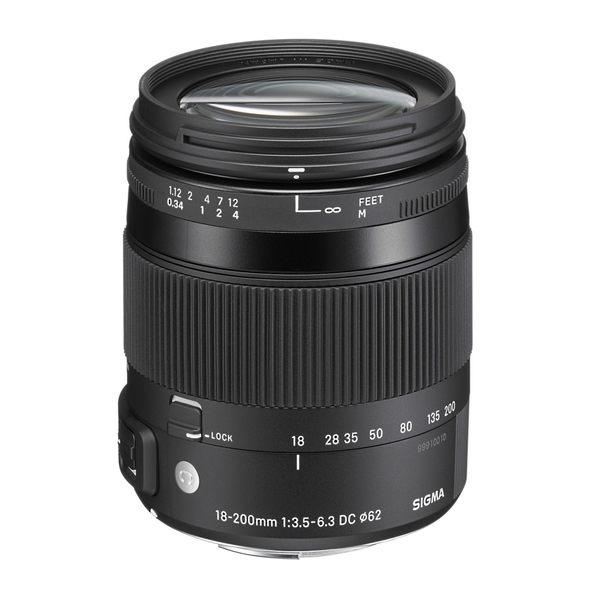 【聖影數位】SIGMA 18-200mm F3.5-6.3 DC MACRO OS HSM [Contemporary] APS-C 專用旅遊鏡頭 (恆伸公司貨 三年保固)