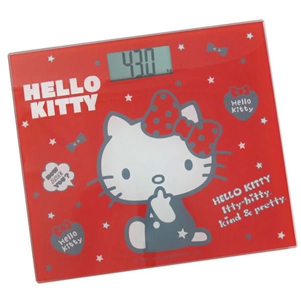 Hello Kitty 電子體重計-HW-319R