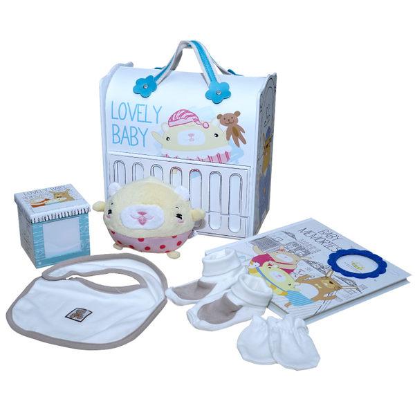 Gifthing 嬰兒成長紀錄禮品組-小兔兔