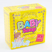 泰國興太太-天然平衡草本嬰兒香皂3入