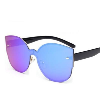 太陽眼鏡-時尚米釘連體造型男女偏光墨鏡5色73en85[巴黎精品]