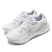 Nike 慢跑鞋 Wmns Renew Run 白 銀 女鞋 小白鞋 運動鞋【ACS】 CK6360-003