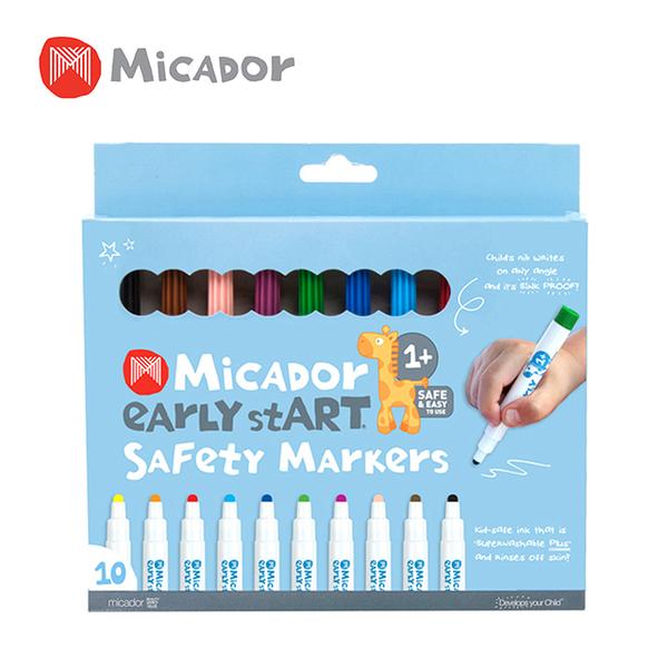 Micador 澳洲 寶貝水洗10色彩色筆