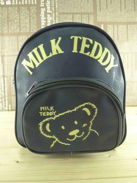 【震撼精品百貨】日本綜合熊_MILK TEDDY~後背包『黑』