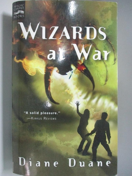 【書寶二手書T2/一般小說_ALA】Wizards at War_Duane, Diane